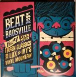"2x10""• BEAT FROM BADSVILLE Vol.4• Trash Classics from Lux & Ivy's Vinyl Mountain"